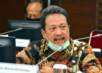 Wakil Menteri Pertahanan Sakti Wahyu Trenggono. (Foto: akun Twitter @saktitrenggon)